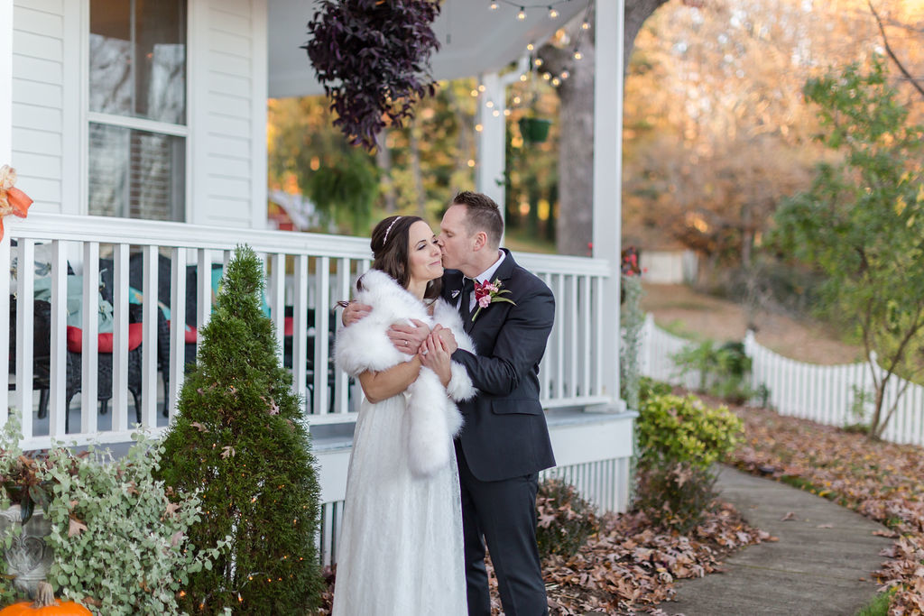 A Winter Day Vow Renewal on Love Lane