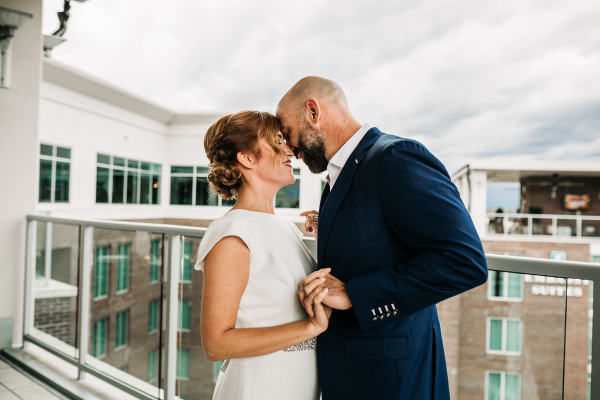 Up - on  - the - roof - Greenville - south - carolina - elopement - package